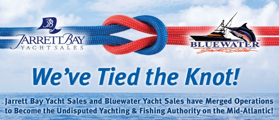 Bluewater Yacht Sales & Jarrett Bay Yacht Sales Merge Operations