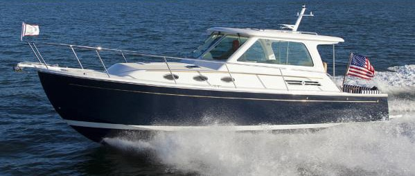 Time for Two Aboard a New Back Cove 34