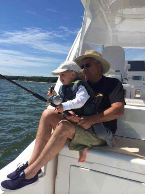 A Boy's First Fish Aboard a Cabo 40