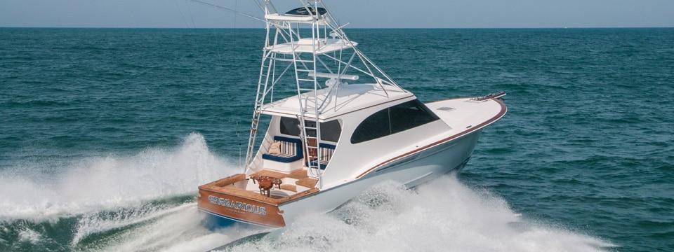43 Hardtop Express Raises the Roof on Custom Sportfish Design