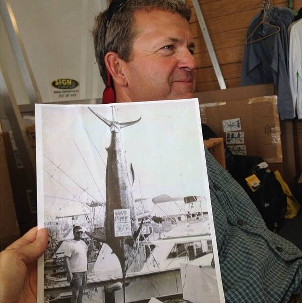 Captain Howard Basnight Still Holds the Blue Marlin Record