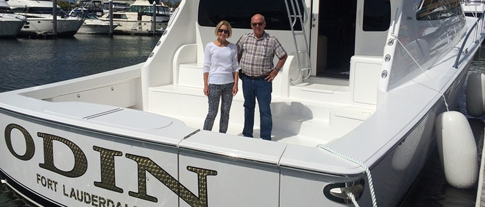 Delivering a New Viking 62C to Her New Owners