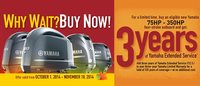 Yamaha Fall Promo