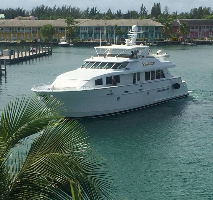 Hatteras 92 Finds a New Home in South Florida