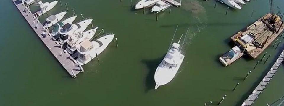 Viking 42 Open Underway to Annapolis