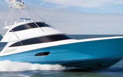 Sea Trial a Viking Yacht in Atlantic City