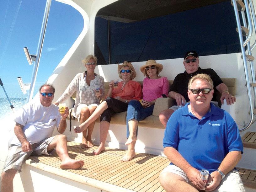 Bluewater Crew on Alexis