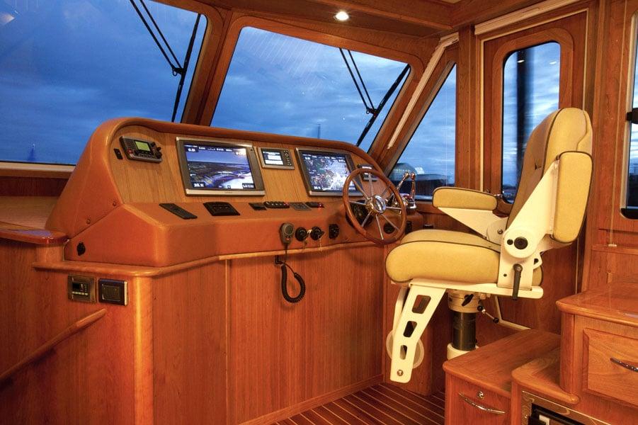 Sabre 48 cockpit