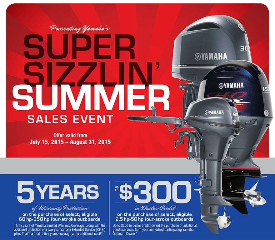 Yamaha Outboard Extended Warranty Promotion
