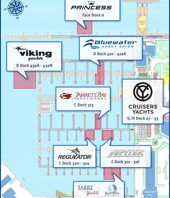 Join Bluewater on the Docks During the Fort Lauderdale International Boat Show