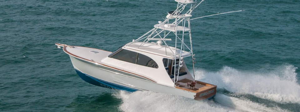 The Jarrett Bay 43 Hardtop Express Demonstrates what a Truly Custom Process can Accomplish