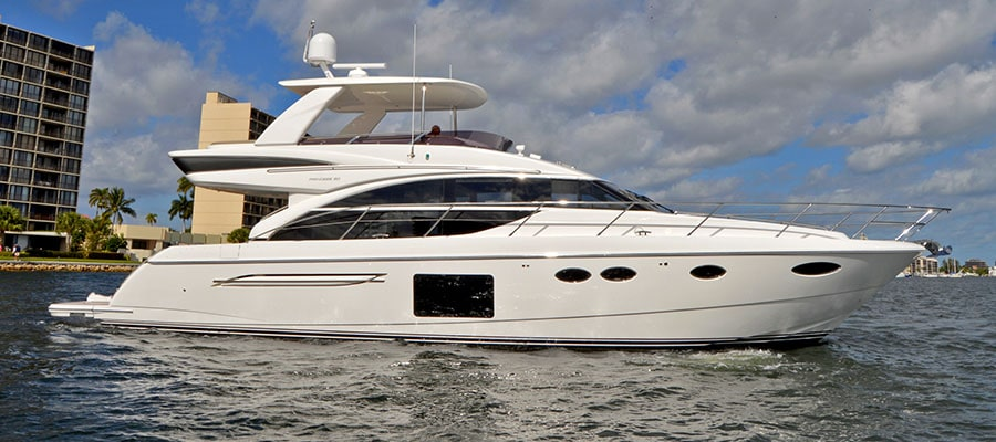 Life-Long Boaters Relish Retirement Aboard Princess Motoryacht