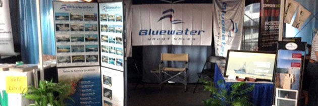Bluewater on Display at the Charleston Boat Show