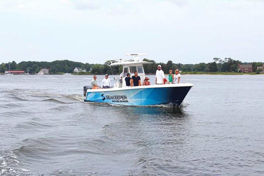 Seakeeper Test Run