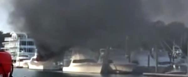 Rameseas Fire at Dock