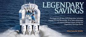 Regulator Legendary Savings Event