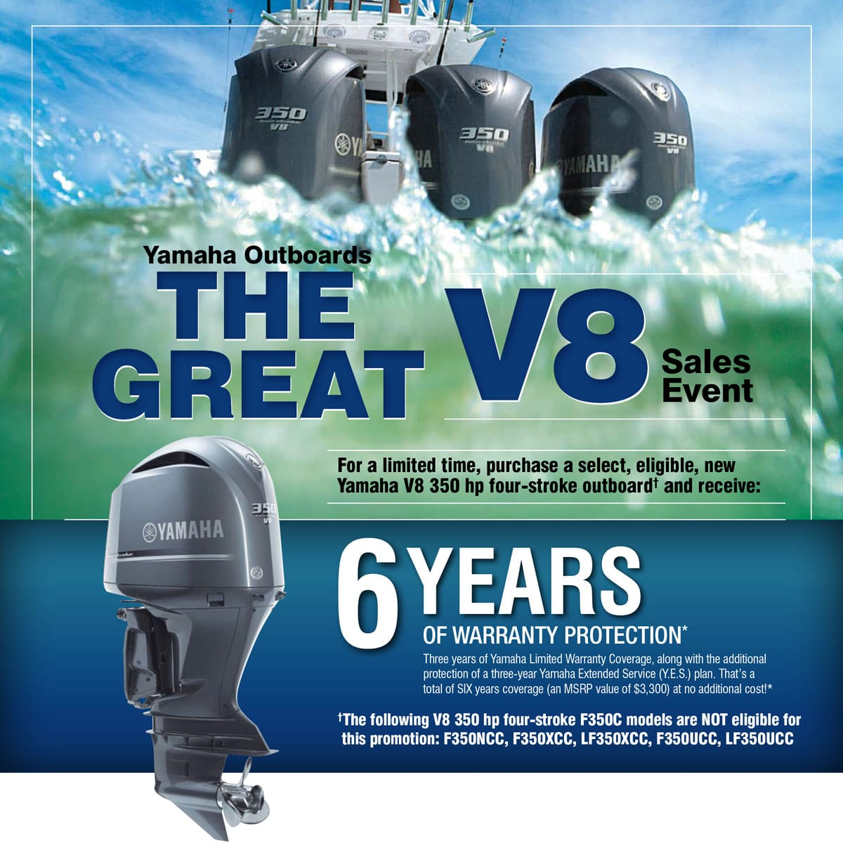 Yamaha Outboard Warranty Promotion