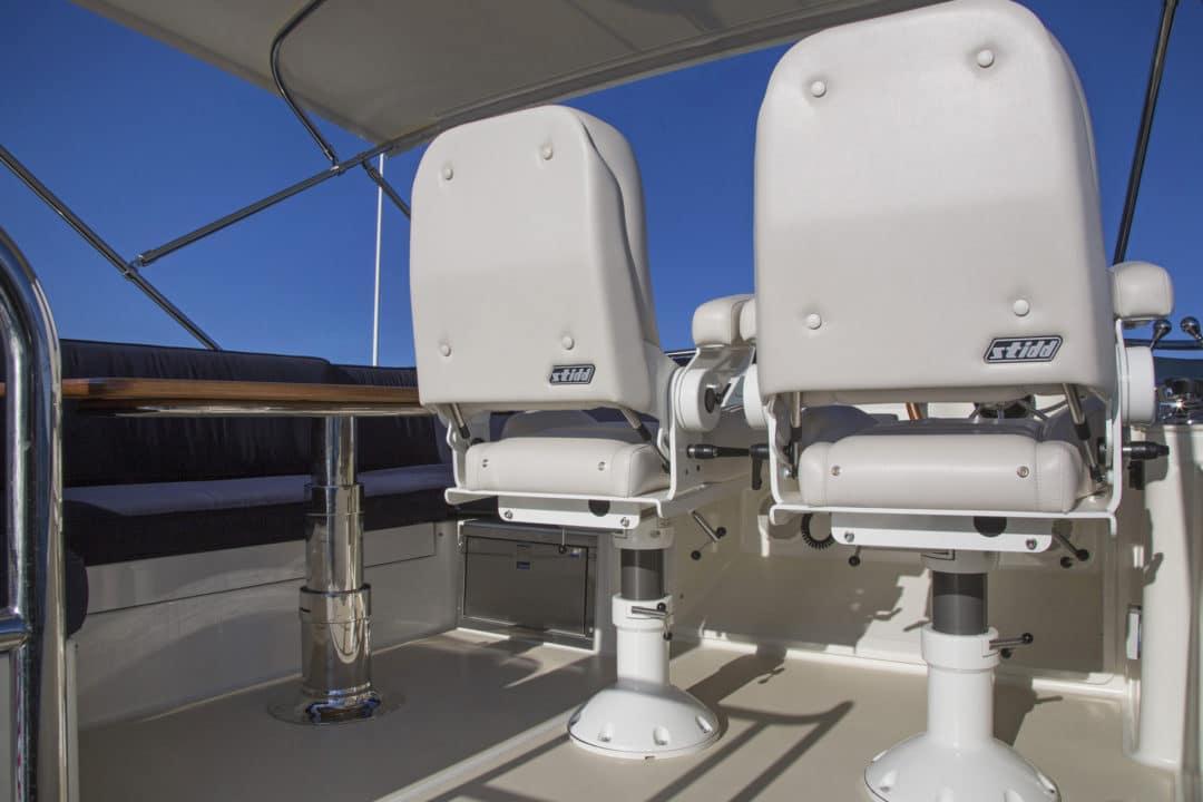 Sabre 48 Flybridge off Portland ME