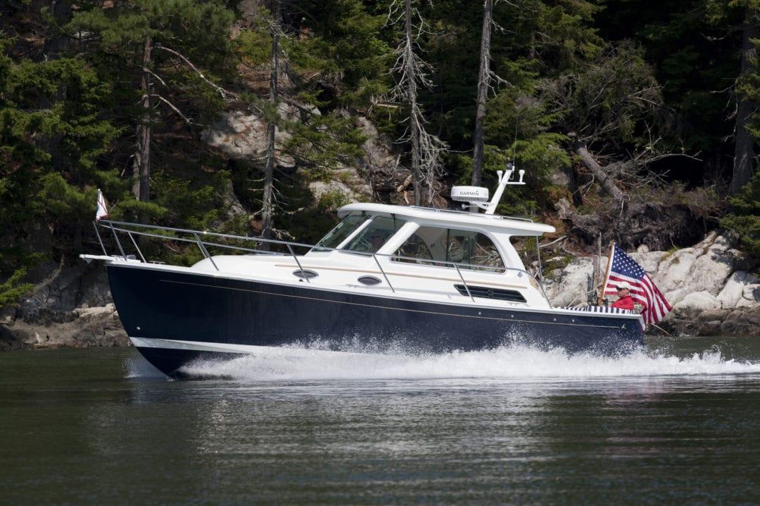 Back Cove 30 cruisers Sassanona river