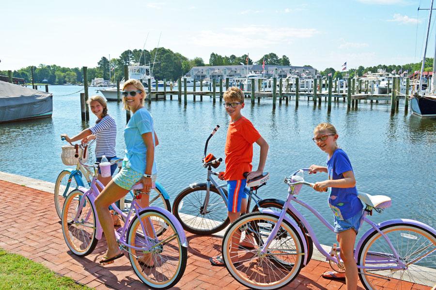 Biking Around Harbor