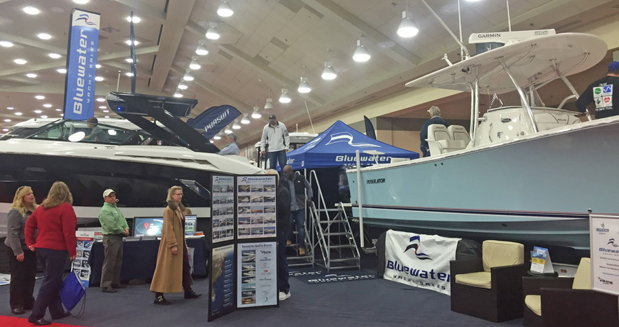 Cruisers & Regulator Indoor Boat Show