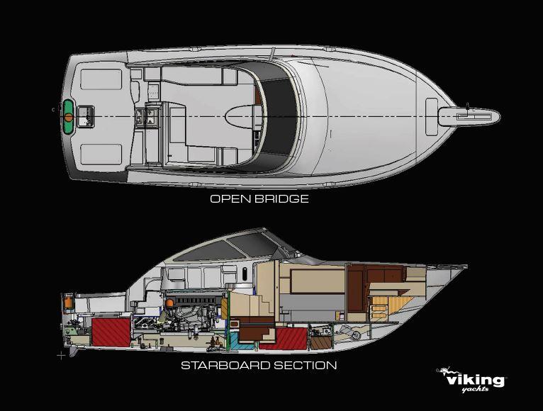 Viking 44 Open Arrangements