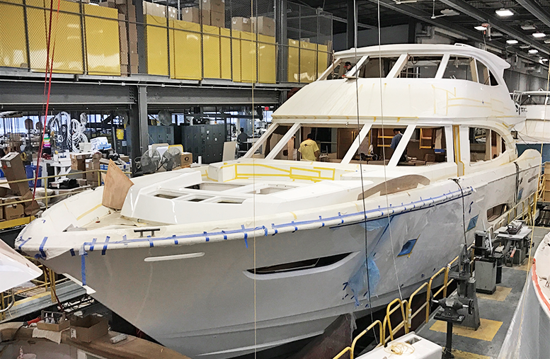 Viking 93MY in production