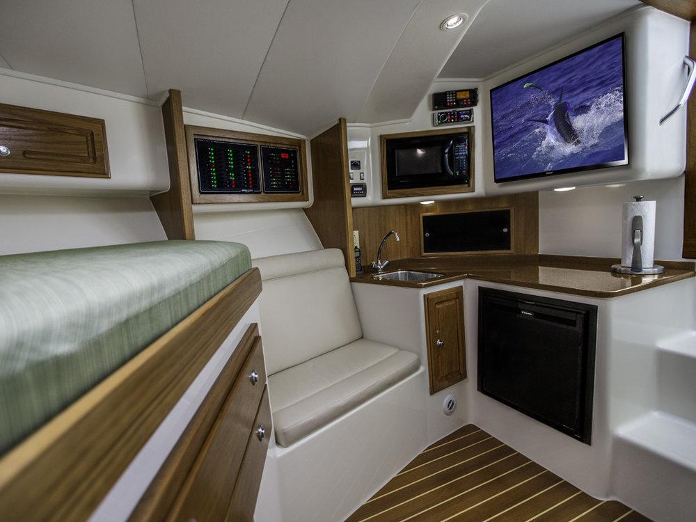 Albemarle 32 cabin