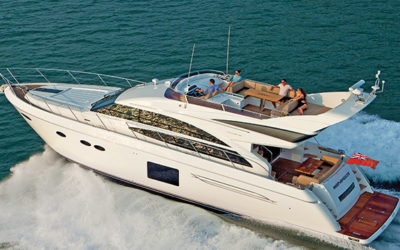 A Glimpse Into Princess Yachts' Perfectionism