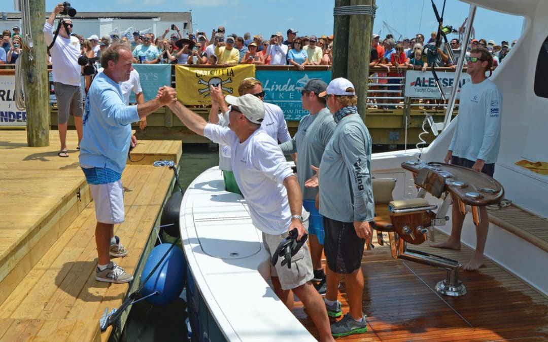 Viking Yachts Winning Legacy at The Big Rock