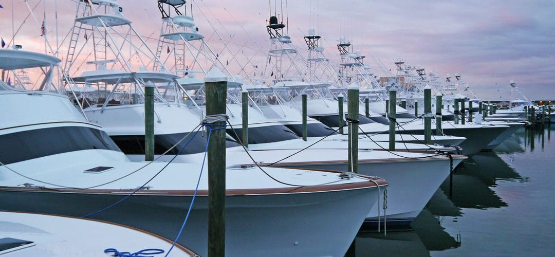 The Finest Sportfishing Boats on Display During White Marlin Open