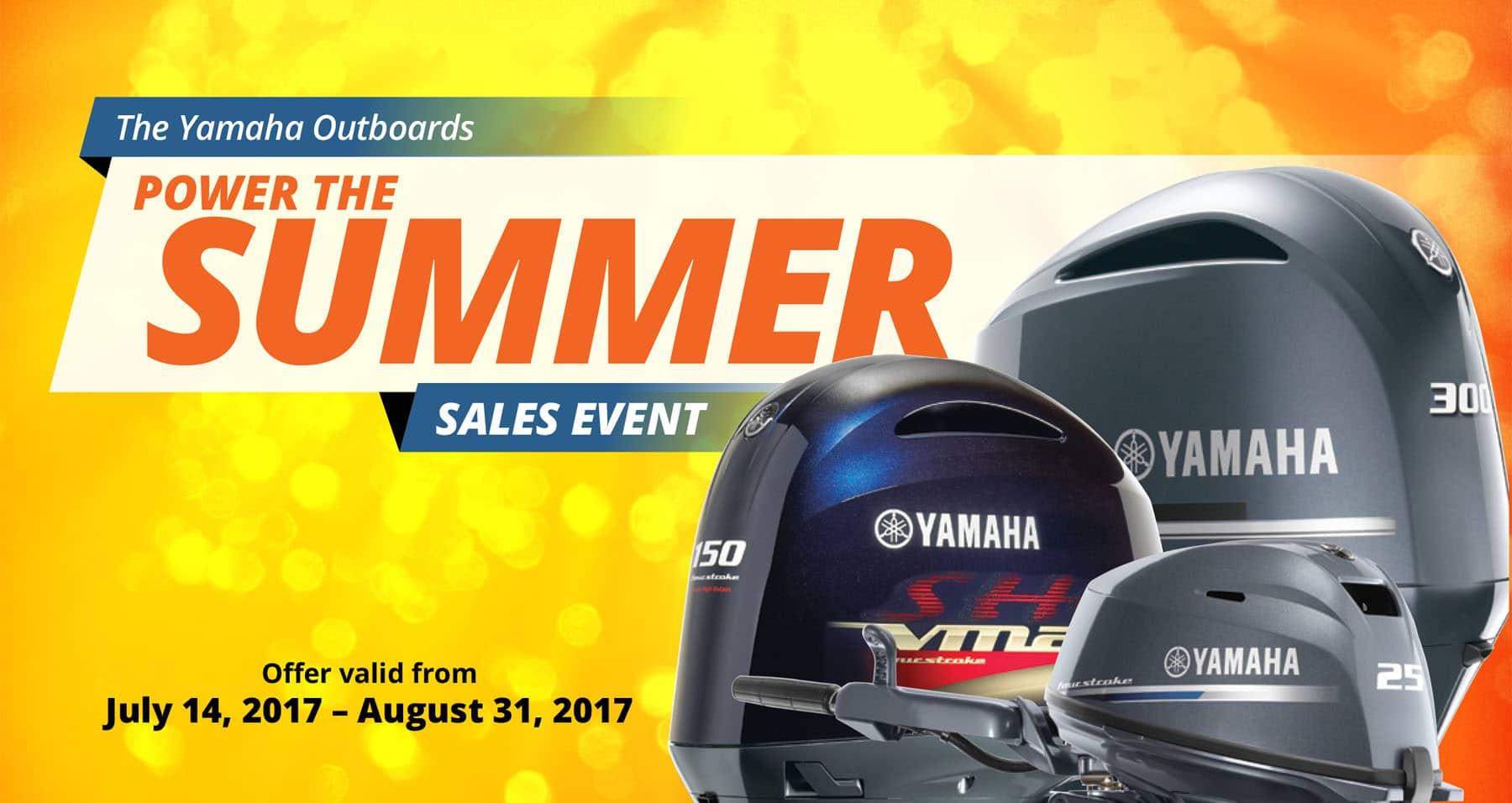 2017 Yamaha YES event