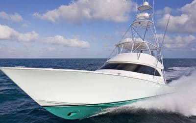 Sea Trial a New Viking During the Annual Dealer Meeting