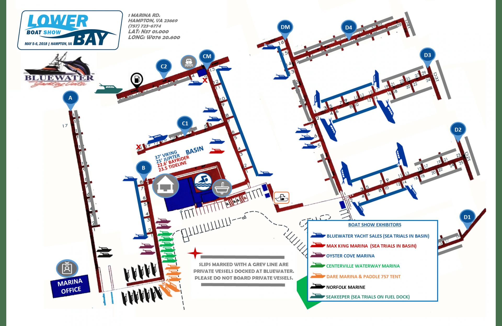 Exhibitor Map