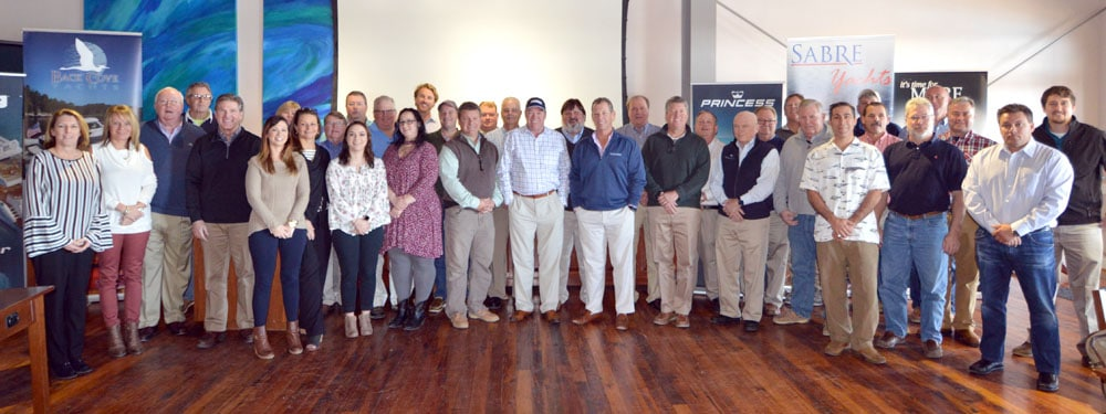 Bluewater Yacht Sales Team Members Recognized for Excellence