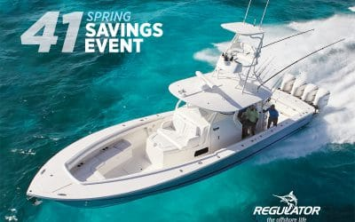 Regulator 41 Spring Savings Event