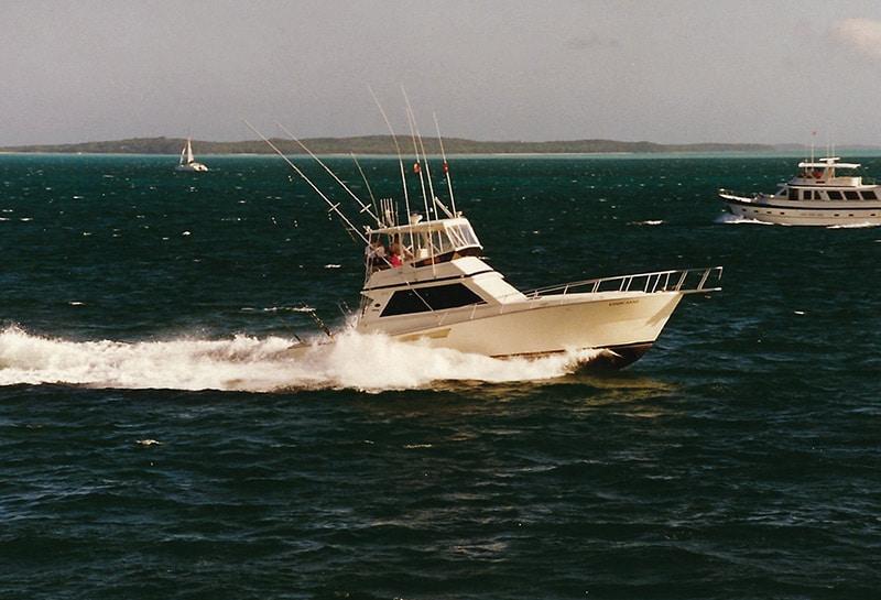 Viking Yacht in the Bahamas