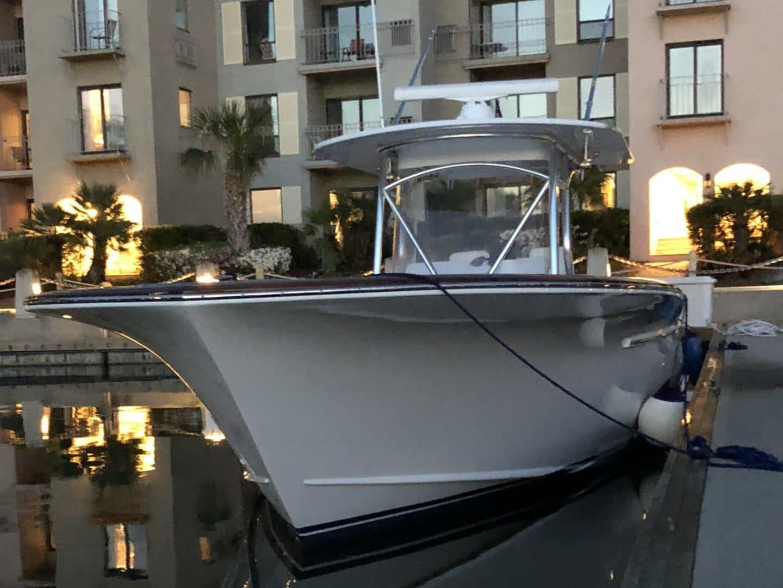 Jarrett Bay 32' Docked in South Carolina