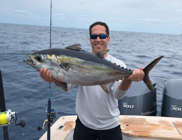 Dave with a Blackfin Tuna