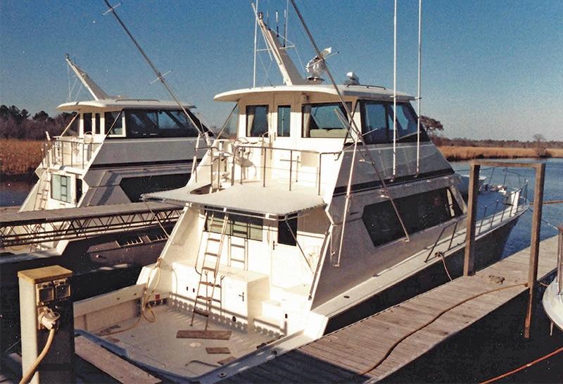 The Make-Ready Docks at Hatteras