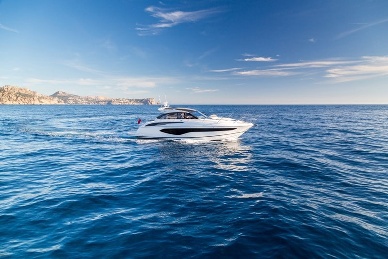 Princess V50 Open Starboard Side