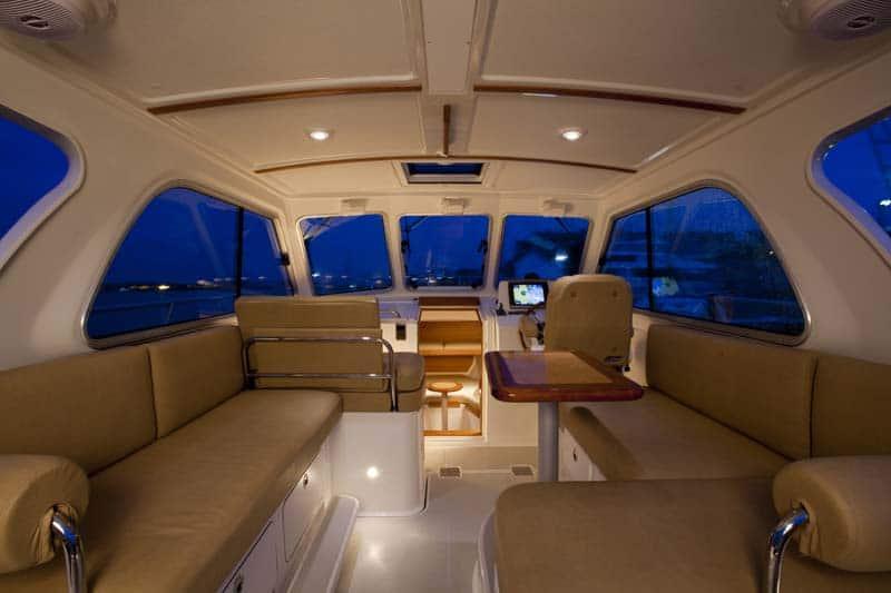 Back Cove 30 Interior