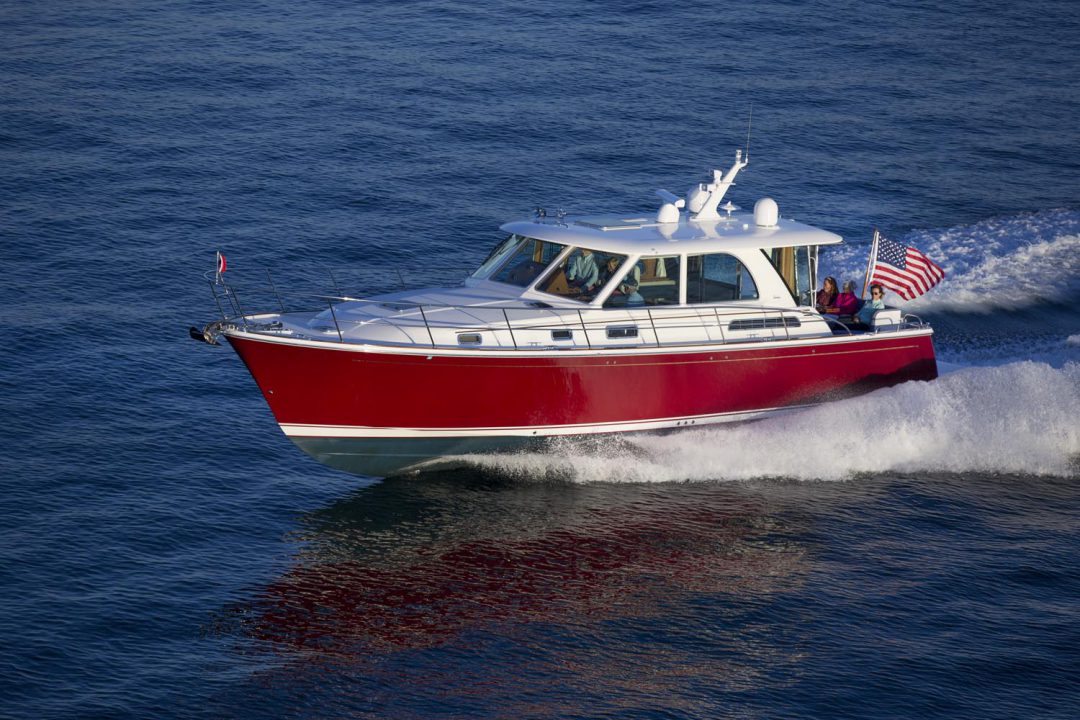Sabre 45 JacFalCon off Nahant MA