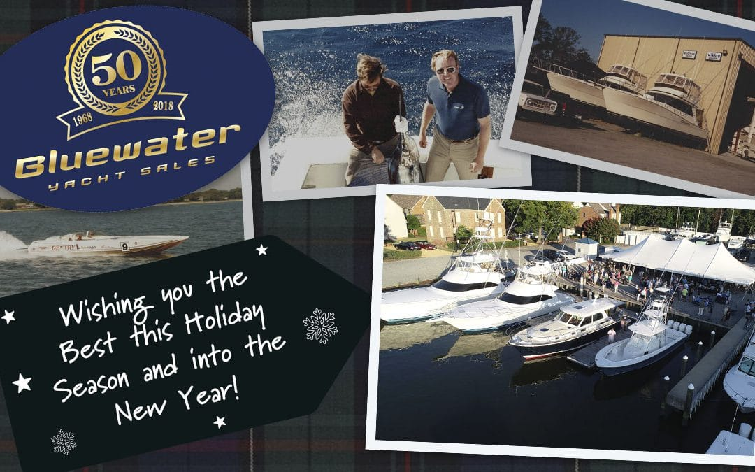 Cheers to 50 Years and Happy Holidays from the Bluewater team!