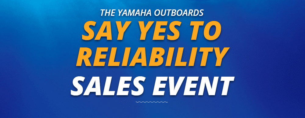 Yamaha Unveils Say YES To Reliability Sales Event