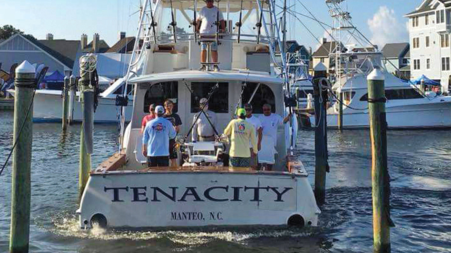 Bluewater helps Tenacity Sportfishing Become a Reality
