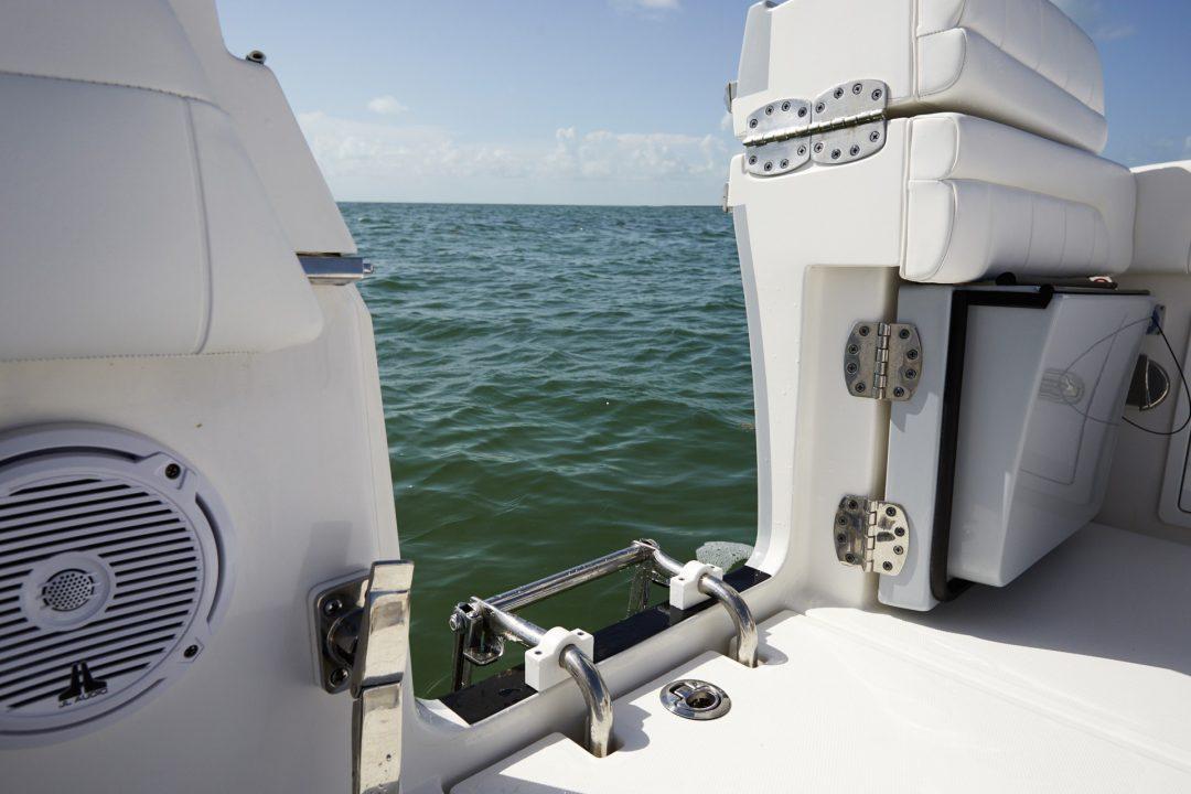 41-regulator-center-console-boat-starboard-dive-door-ladder